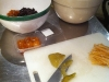 Candied Citron, Lemon Peel and Whole Clementines