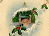 1920s Christmas Postcard