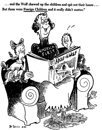 America First Image by Dr. Seuss