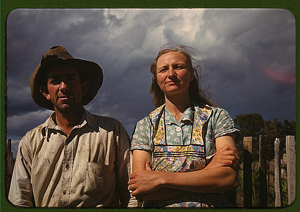 Faro and Doris Caudill, homesteaders, Pie Town, New Mexico; Russell Lee; October, 1940