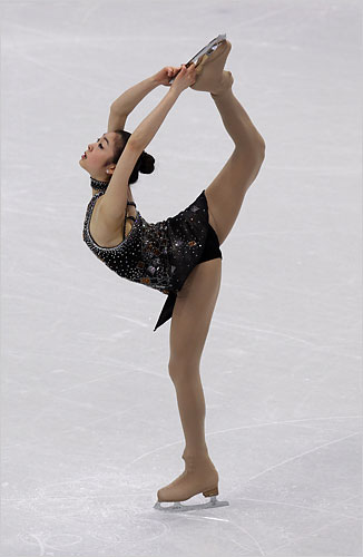 Kim Yu-Na of South Korea