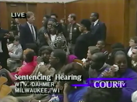 The Victims' Families at the Trial