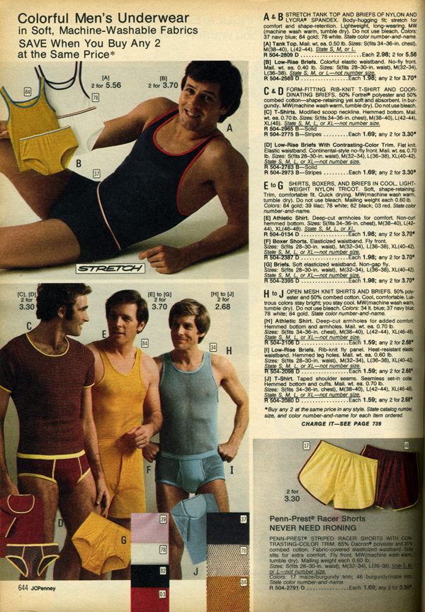 JC Penney, Fall, 1973