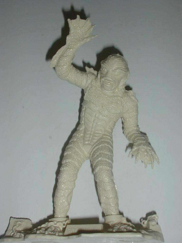 Marx Creature from the Black Lagoon figure, 1963
