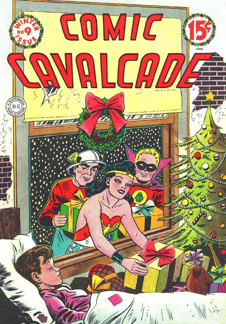 Comic Cavalcade No. 9, Winter, 1945
