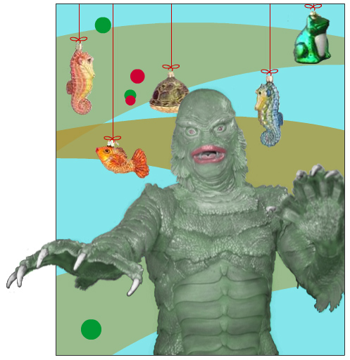 The Creature from the Holiday Lagoon